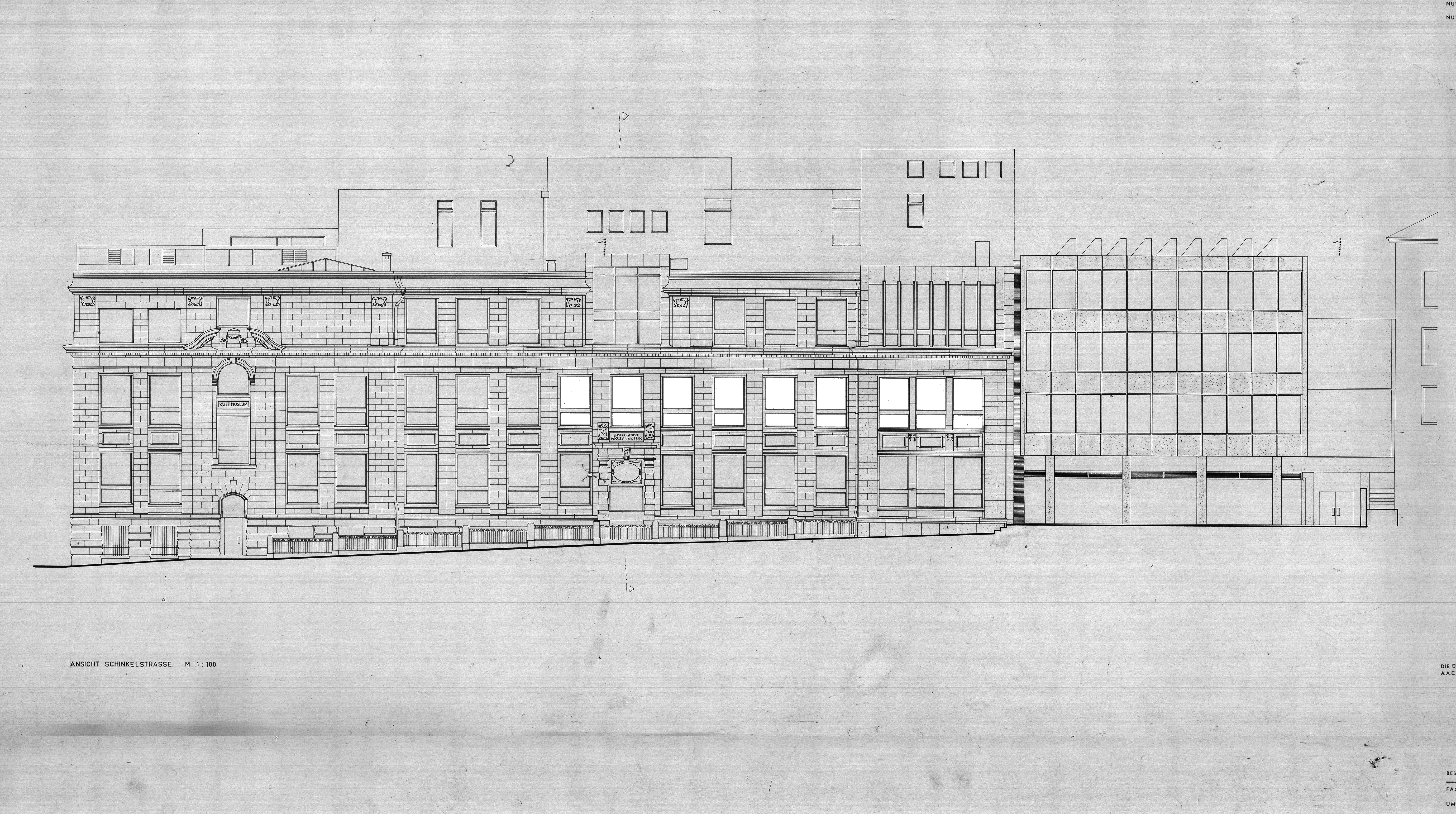 Elevation of the Reiff Museum