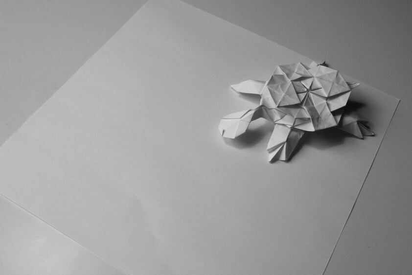 Traditionelles Origami