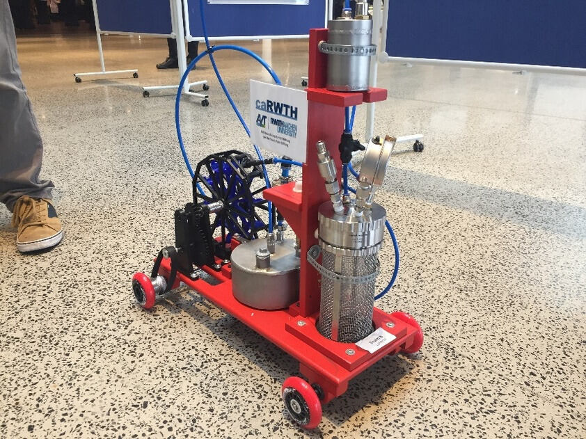 A ChemCar model developped by the RWTH team